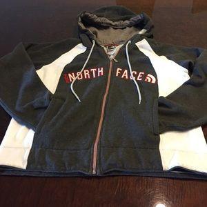 North face zip up sweatshirt!